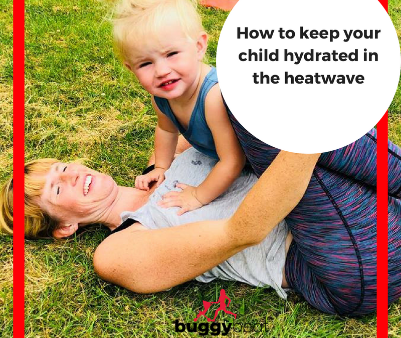 How to keep your child hydrated in the heatwave