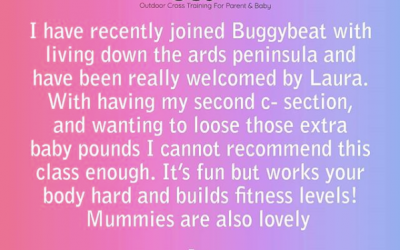 Glowing reviews for our Buggy Beat Classes